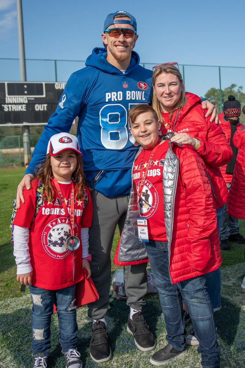 @49ers @TAPSorg @cancerCAREpoint @AutismTree @ShoePalace Thank you @gkittle46 - families from @TAPSorg are so excited!