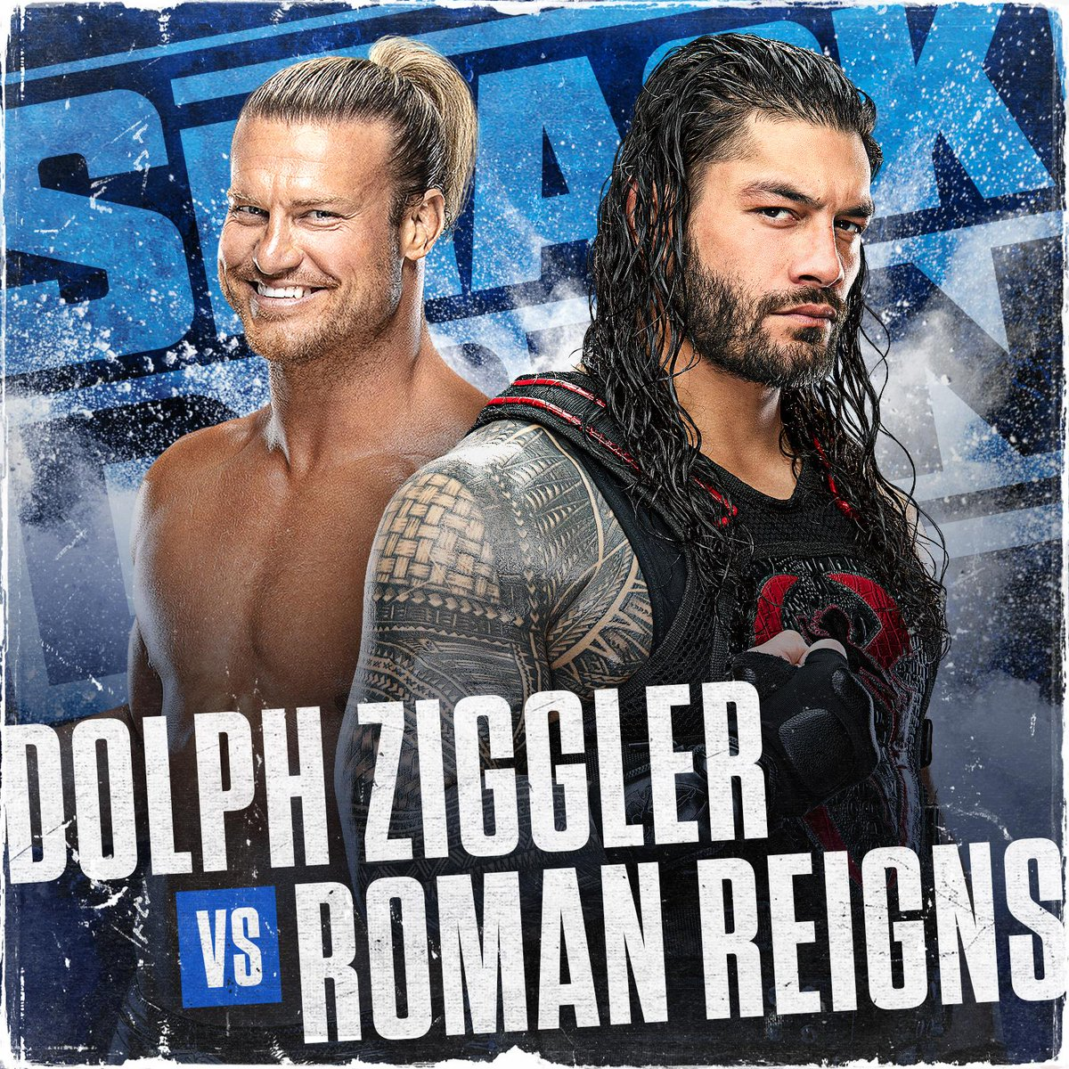 It's BIG DOG vs. SHOW-OFF tonight on #SmackDown in just ONE HOUR on @FOXTV!   Who ya got: @WWERomanReigns or @HEELZiggler?