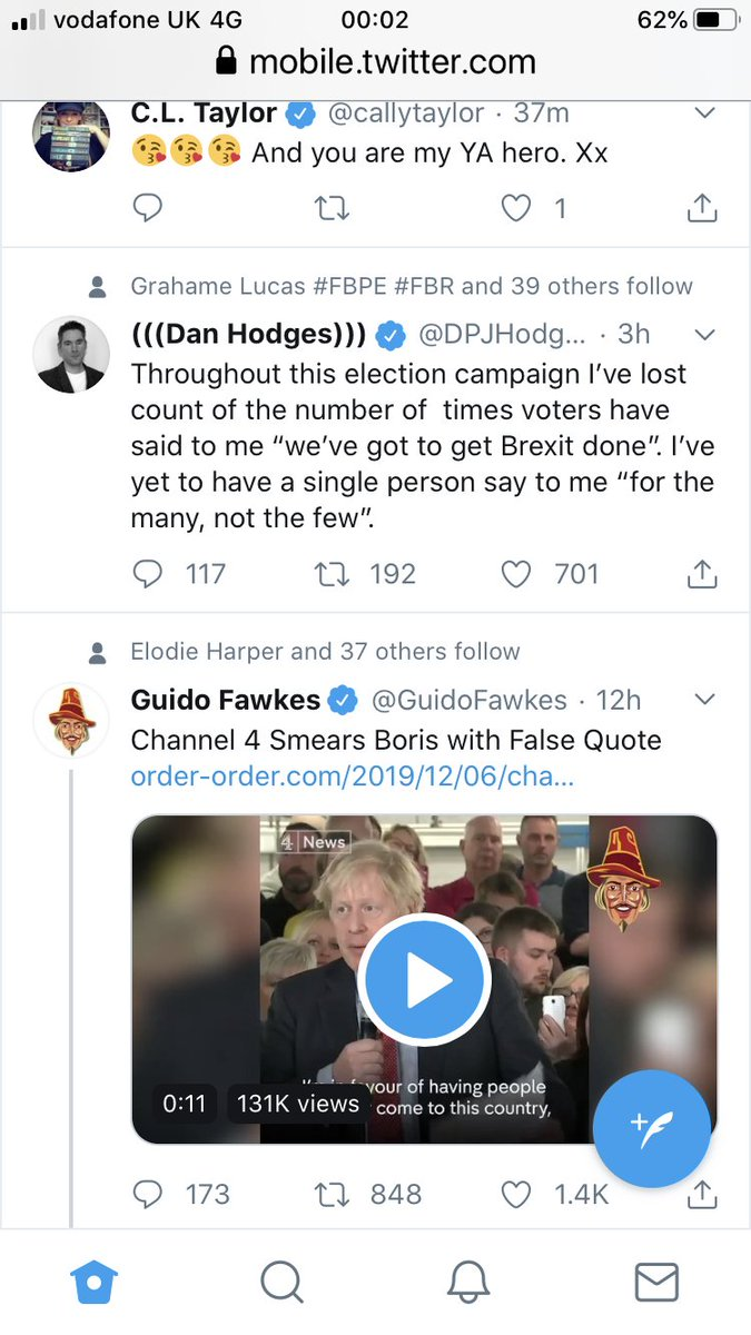 @CVFry For example, I don't follow either Dan Hodges or Guido, and they haven't been RTd, it's just the Twitter algorithm hoping I'll be interested and follow them. Opposite though!