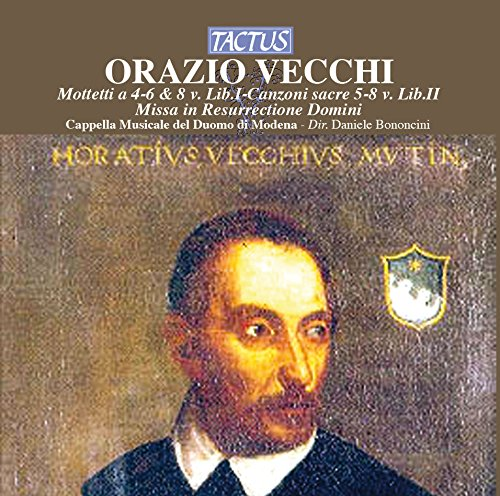 """#OrazioVecchi was baptized #OnThisDay in #Modena in 1550, the composer of #canzonette that were typical of the #music of #Renaissance #Italy, such as the delightful """"So Ben, Mi C'ha Bon Tempo"""" #Italia #Rinascimento #musica"""