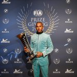 #FIAPrizeGiving2019 -  It was another season of mesmerising speed from @LewisHamilton 🇬🇧 who built unstoppable momentum over the course of the year to write another page in @f1 history books – with six world titles now to his name. 🏆🏆🏆🏆🏆🏆