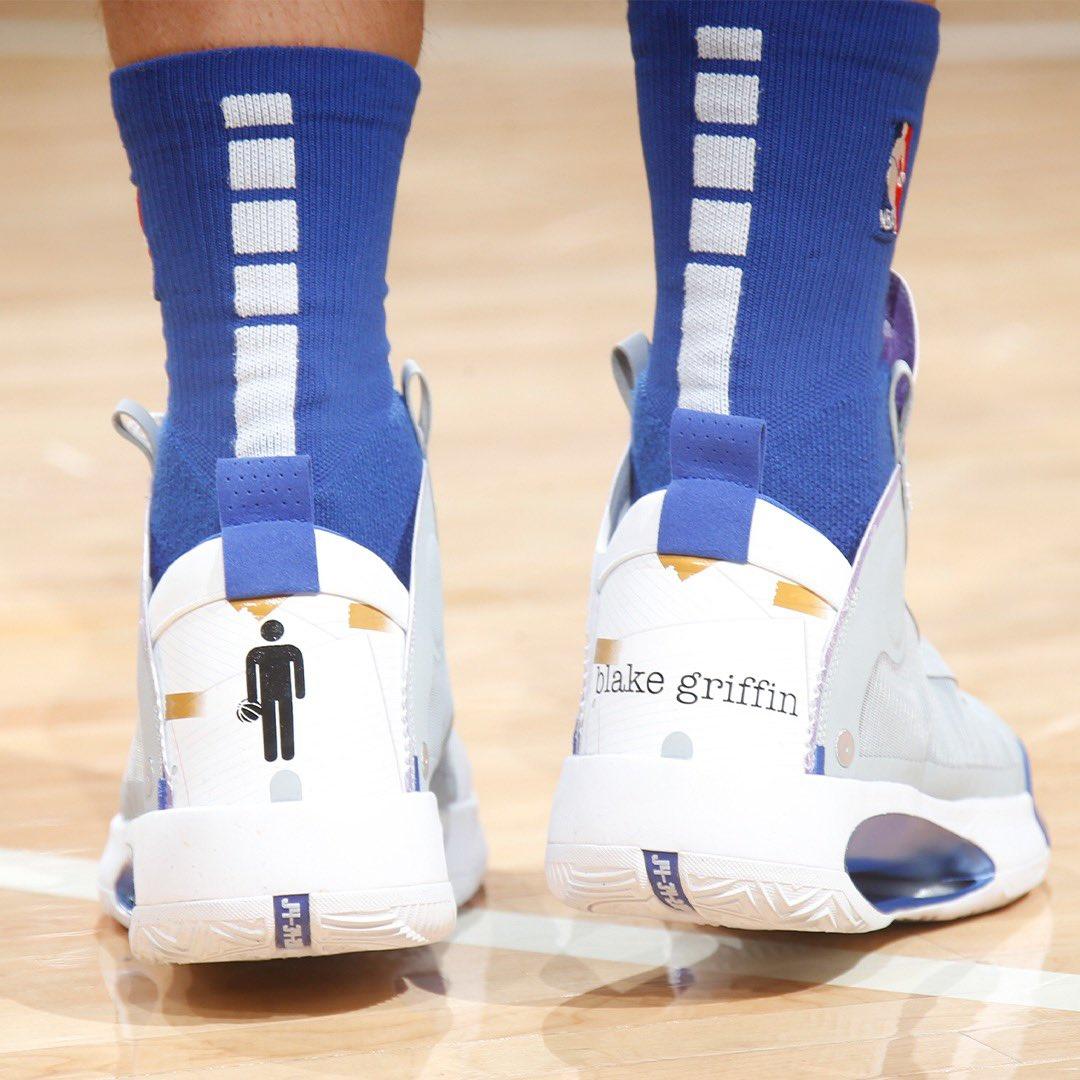 """🏀 #NBAKicks 👟 on Twitter: """"Blake Griffin's Jordan XXX4 PE ..."""