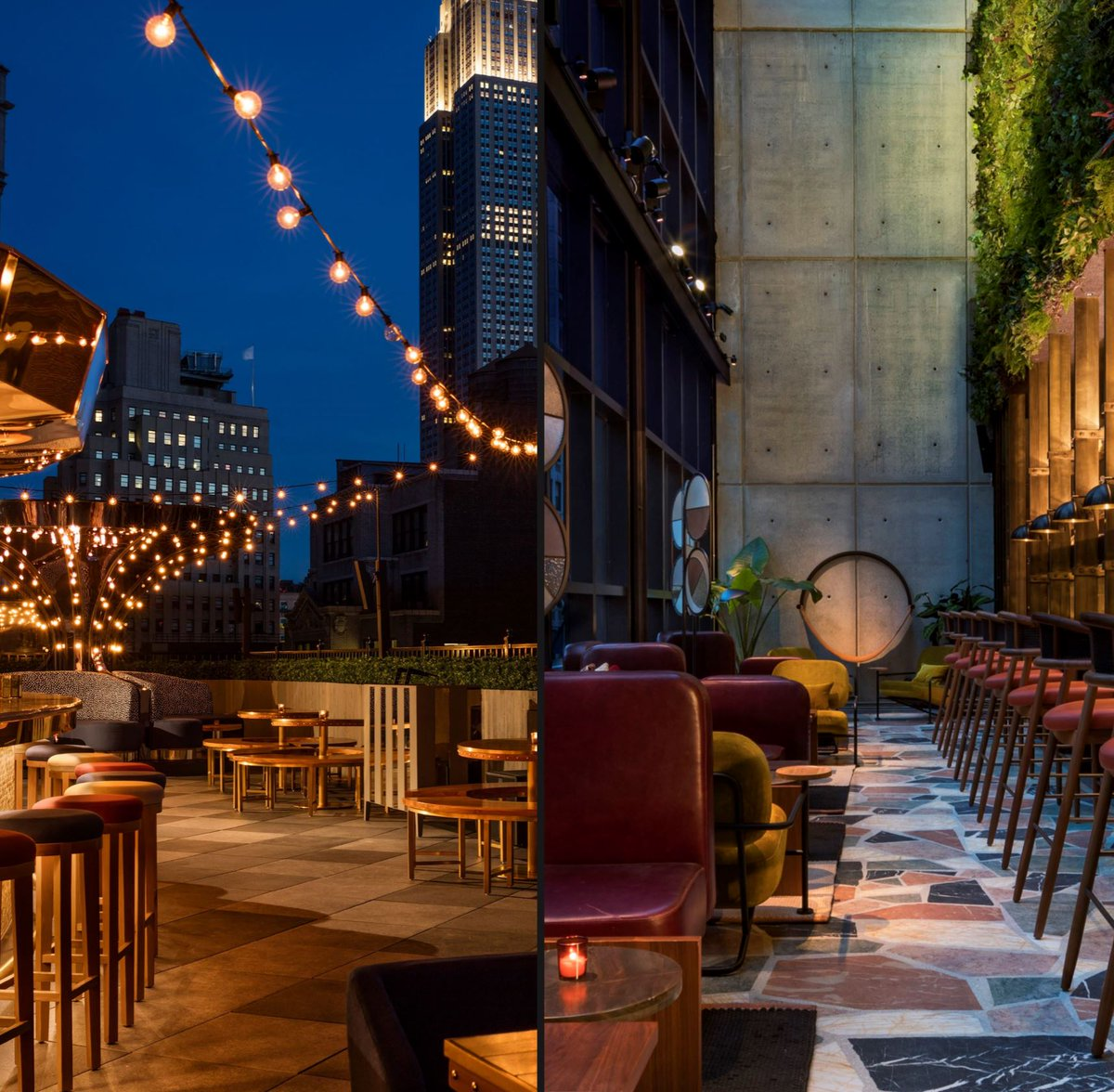 It's Friday night!! Check out the The Magic Hour Rooftop or the Conservatory at @MoxyHotels in #NY read our Fall issue for some cool drinks stories!  #nynightlife #drinks #hotwinternights #NYmovesmagazine #NewYork #nightout #date #nylifestyle #lifestyle #chelsea #timessquare