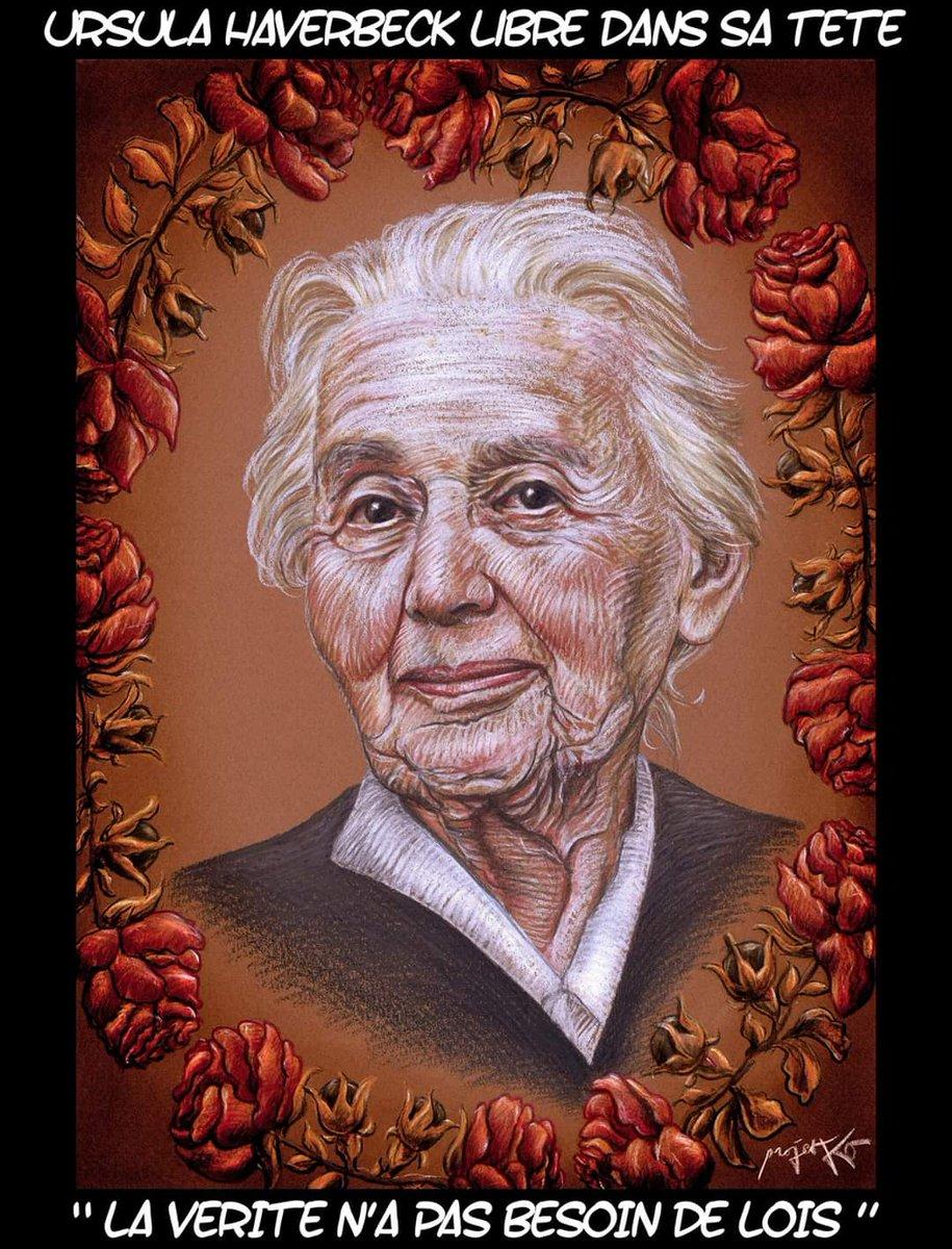 """CLAN on Twitter: """"Caleana Major et Projet KO rendent hommage à Ursula  Haverbeck, emprisonnée en Allemagne depuis le 7 mai 2018 et qui vient de  fêter ses 91 ans en prison. Leurs"""