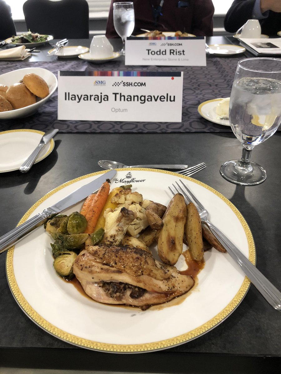 During the #Executive #Roundtable discussions #lunch on Zero Trust (#CyberSecurity #conference ) . I'm feeling guilty when learning that my immediate #restless #leadership are all now become #Vegan or following #vegetarian #diet 😉😬😬