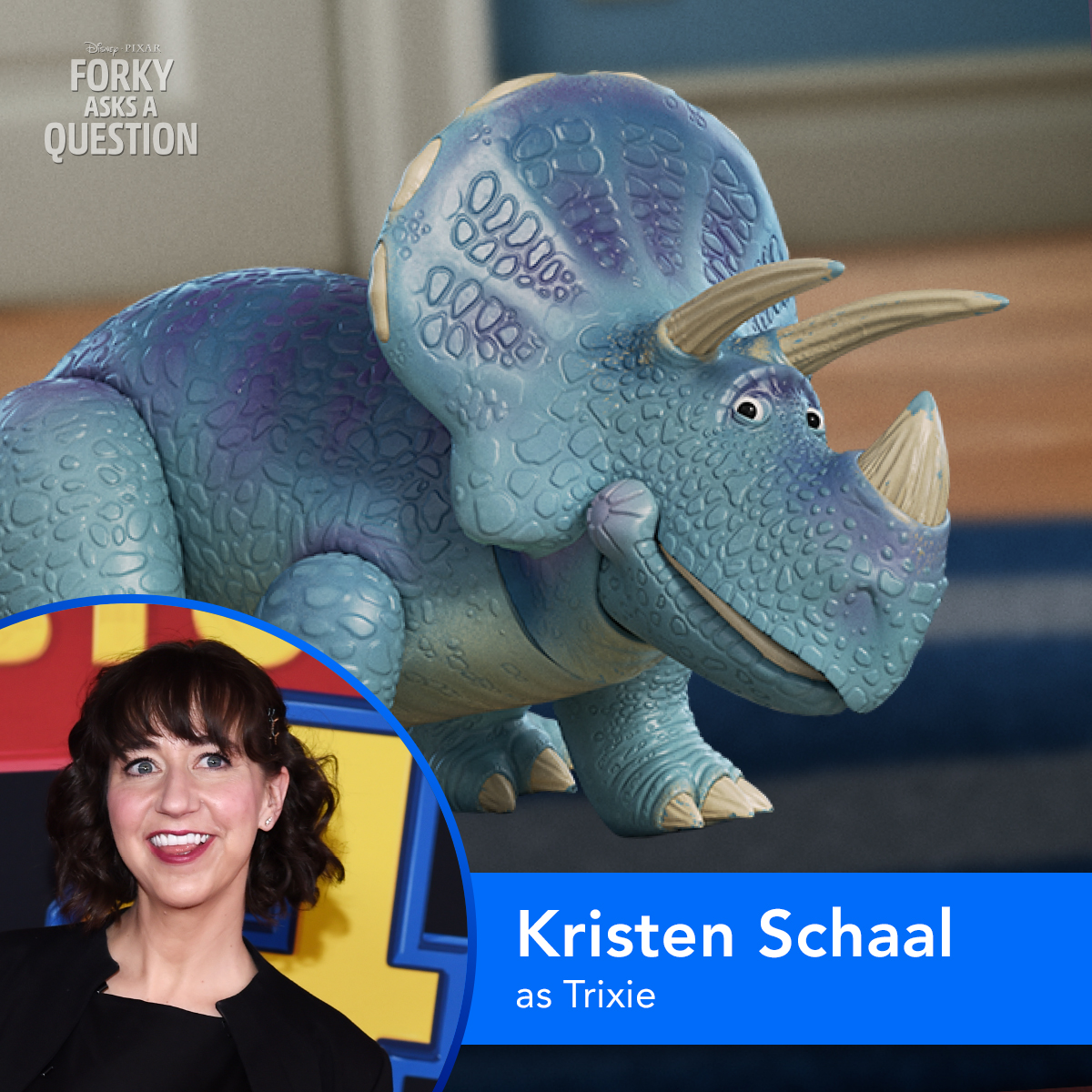 @KristenSchaaled as Trixie