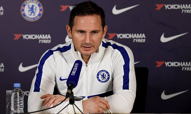 Frank Lampard tells his Chelsea youngsters to stand up and be counted as h... #Chelsea  https://fanly.link/b2d507d5f7