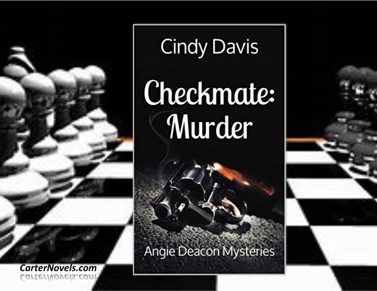 CHECKMATE: MURDERhttps://buff.ly/2YNKL3CAUTHOR CINDY DAVIS#Books #IARTG #Kindle #Amazon #ReadIndie #indieauthors #ian1 #bookboost #Authors @rcarter67606 @JPCarter47  @cdavis461