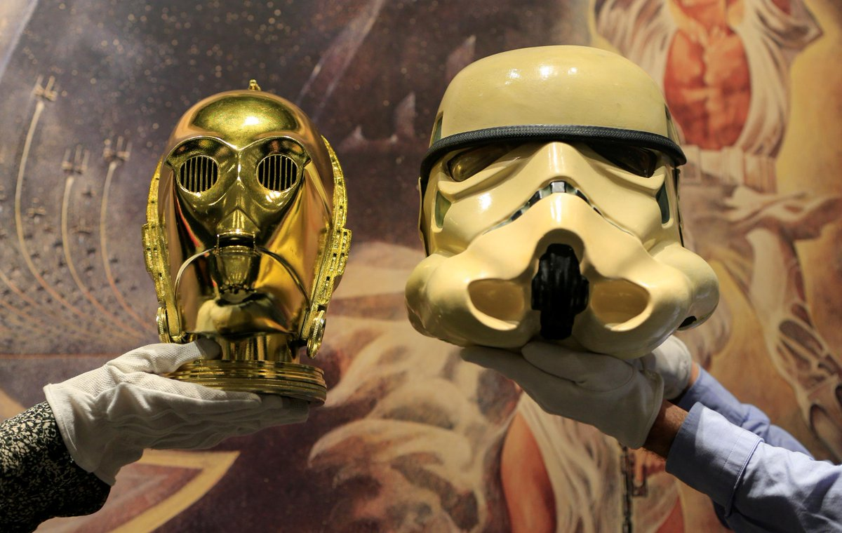 From posters to helmets, Star Wars collectibles up for auction. Click on https://overlooked.com/article/f562c0b4-fad4-4594-a108-246c1deeaa01 … to read this article from Reuters.
