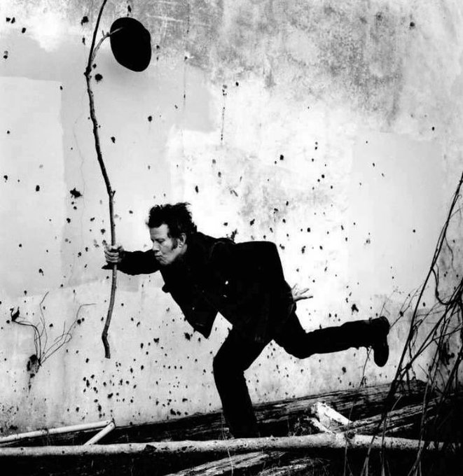 Happy Birthday Tom Waits. Photo by Anton Corbijn