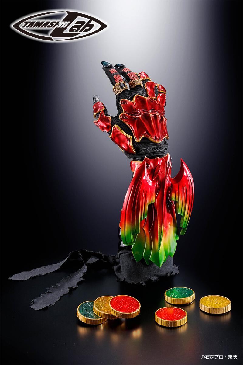 腕に装着できる1/1モデル「TAMASHII Lab(タマシイラボ) アンク」商品化決定&12月20日(金)から魂ウェブ商店で受注開始!第一報はこちら→  12月7日・8日開催の「THE HENSHIN」で展示中です! #仮面ライダーオーズ #THEHENSHIN #変身ベルト