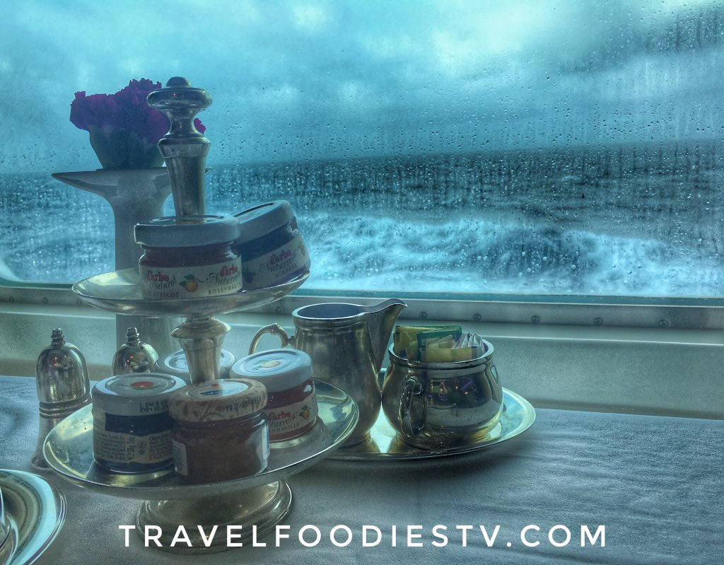 The most #incredible place for a #romantic #breakfast on the #sea! The #cuisine #service #mist #music #regentcruises #cruise #cruises #travel #luxurytravel #adventure #love #romance #happiness #sponsored