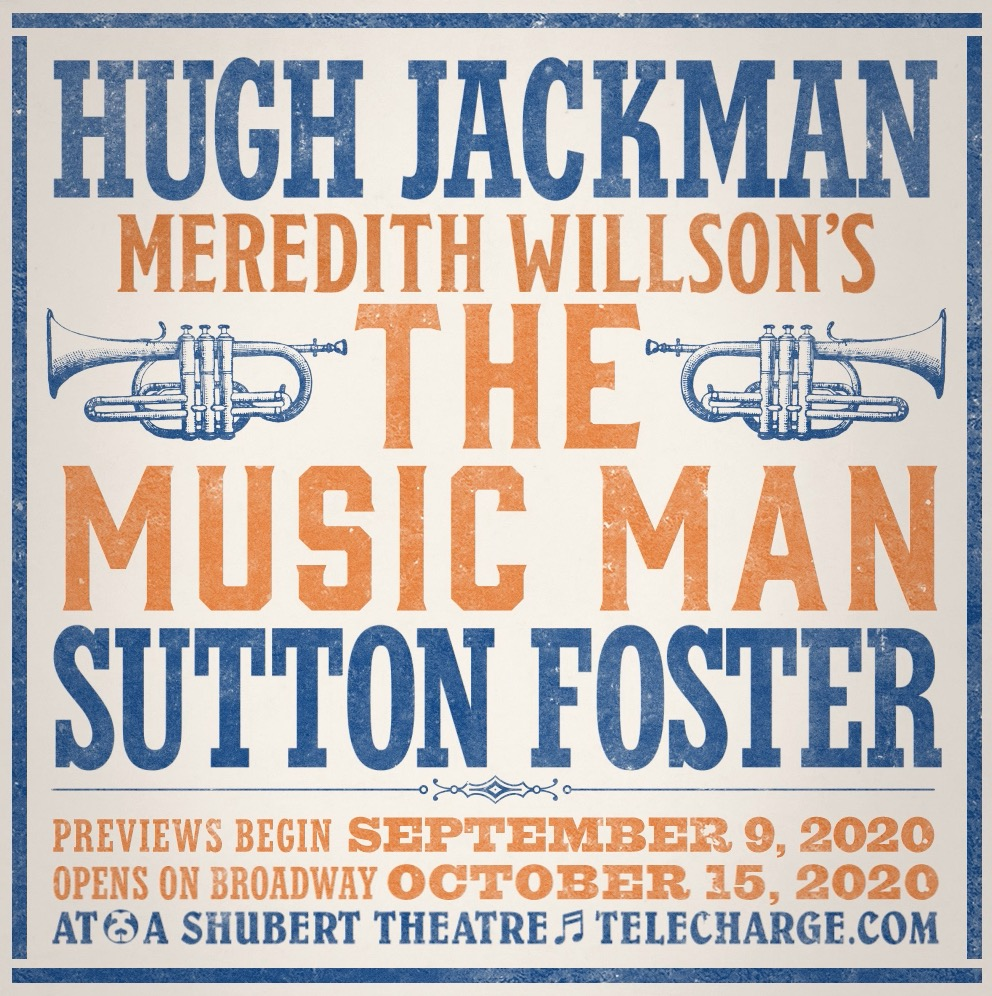 From Salesman #2 to Professor Harold Hill. Hugh Jackman stars in Meredith Willson's THE MUSIC MAN. Opens on Broadway October 2020.  #TheMusicManBroadway