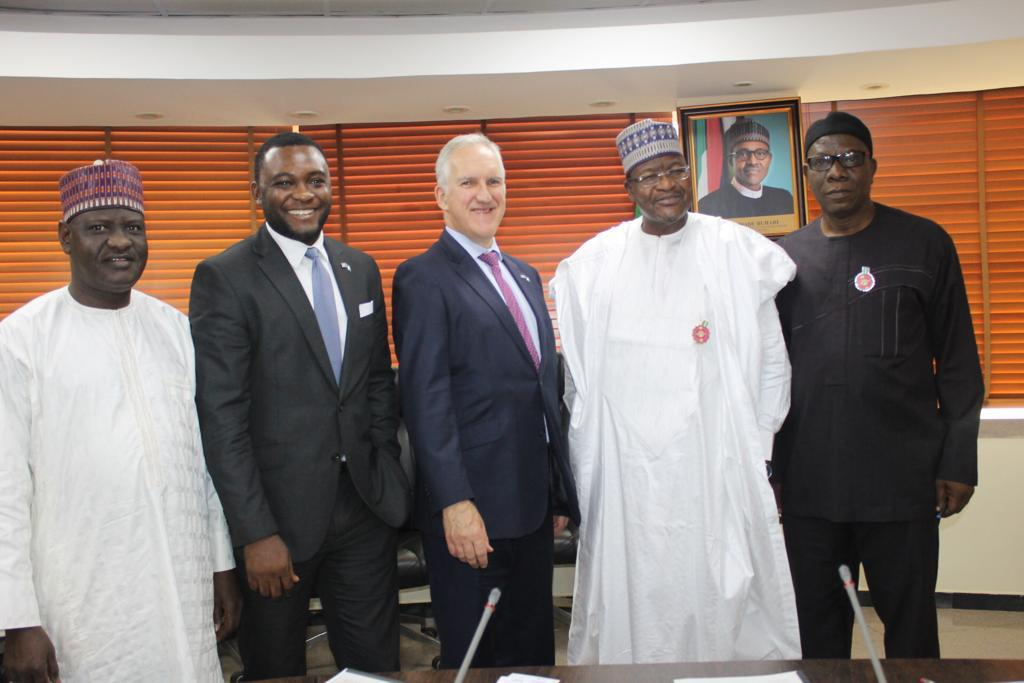 """UK in Nigeria🇬🇧 على تويتر: """"@UKinNigeria is glad to partner with the  Nigerian Communications Commission to deepen internet connectivity in  Nigeria. Thanks to Guy Harrison, Head of Prosperity, Idongesit Udoh the Head"""