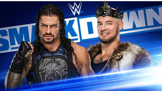 #SmackDownOnFox #King @BaronCorbinWWE has vowed to humiliate #TheBigDog @WWERomanReigns on Friday Night #SmackDown.