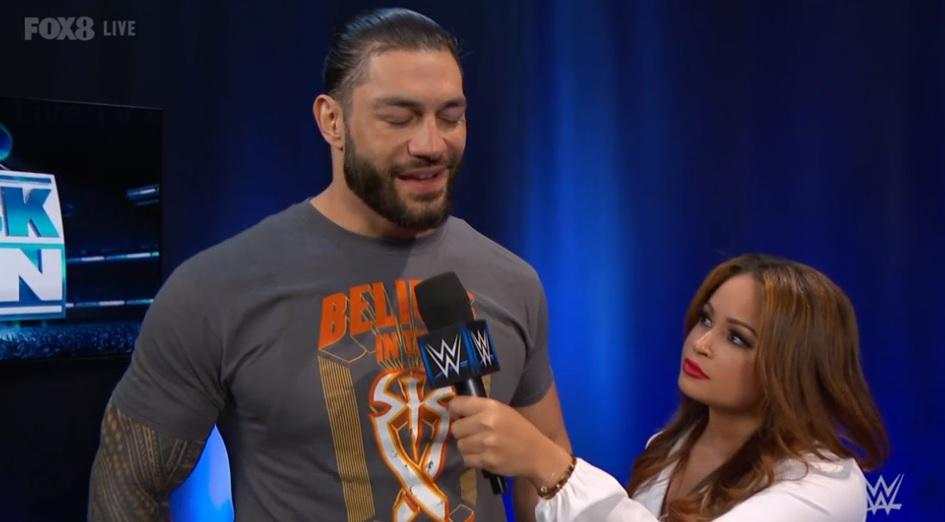 "LIVE | ""At #WWETLC I will embarrass @BaronCorbinWWE"" - #TheBigDog @WWERomanReigns decrees to #TheKing on #SmackDown. #WWEAustralia"