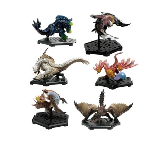MONSTER HUNTER FIGURINE BUNDLE (VOL. 16) is available for pre-order until Dec 20! Grab all 6 of these monster figurines from Monster Hunter World: Iceborne!  - Barioth - Brachydios - Coral Pukei-Pukei - Beotodus - Brute Tigrex - Viper Tobi-Kadachi <br>http://pic.twitter.com/Gonz1xT6vu