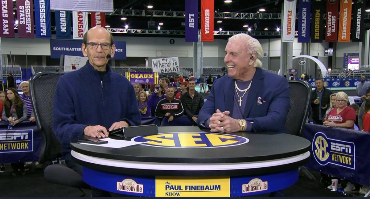 I Had An Amazing Time On The @finebaum Show! Thanks For All The Respect! WOOOOO!