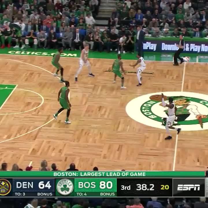JAYLEN TAKES FLIGHT!    #Celtics
