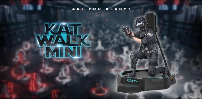 匠、本格VRトレッドミル「KATWALK mini」を国内販売--その場でVR空間を縦横無尽に /  #pocket