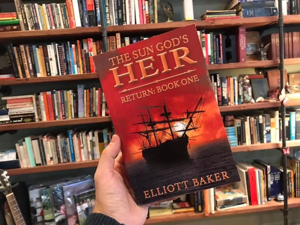 "The Sun God's Heir: Return (Book One)  https://www. amazon.com/dp/B01MS3RCE0/     ""Easily in the top ten books I have read… friendships, romance, piracy, battles, and a sword mistress… hello ladies!"" #seaadventure #awardwinning #bestread #historicalfantasy #17thcentury #pirates #reincarnation<br>http://pic.twitter.com/IMZWPV0d92"