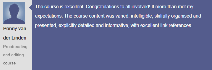 """""""The course is excellent, congratulations to all involved"""". You can read plenty more reviews from our satisfied #proofreading and #editing #course learners, here: https://collegeofmediaandpublishing.co.uk/proofreading-editing-course-reviews… #learnonline #reviews #online_College #Learn_Proofreading ⭐⭐⭐⭐⭐"""