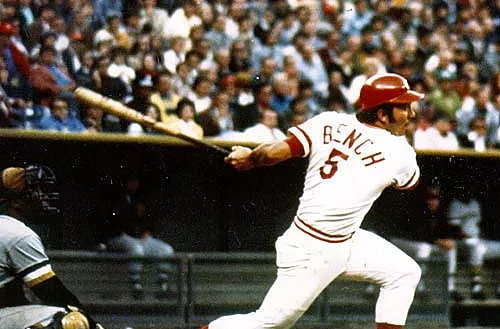 Happy birthday to possibly the greatest catcher of all time, Johnny Bench
