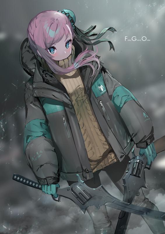 寒すぎるので着込む武蔵ちゃん#FGO #FateGO