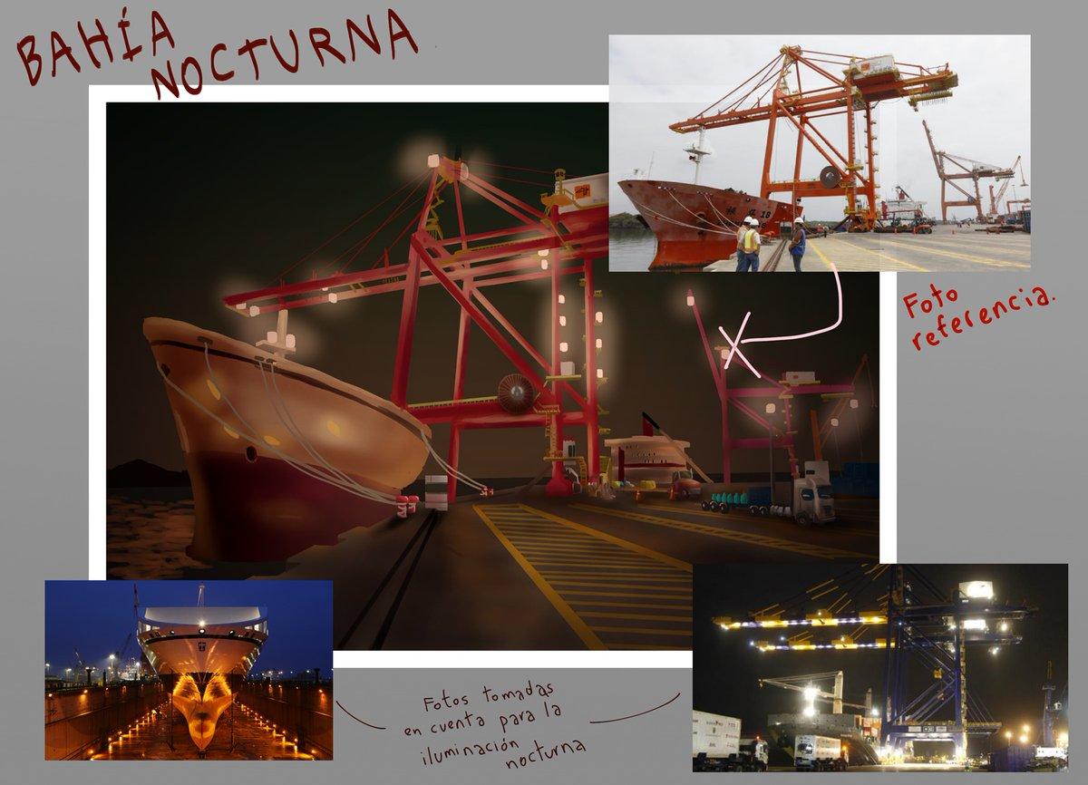 @ApoyaAlArtista @ArtePorDoquier_ @dibujando @ArtCult_es @ConoceArtistas  #art #arte #MakingOf #WIP #process #TUTORIAL #reference #pic #artreference #sea #maritimeport #illustration #drawing #cityscape #structure