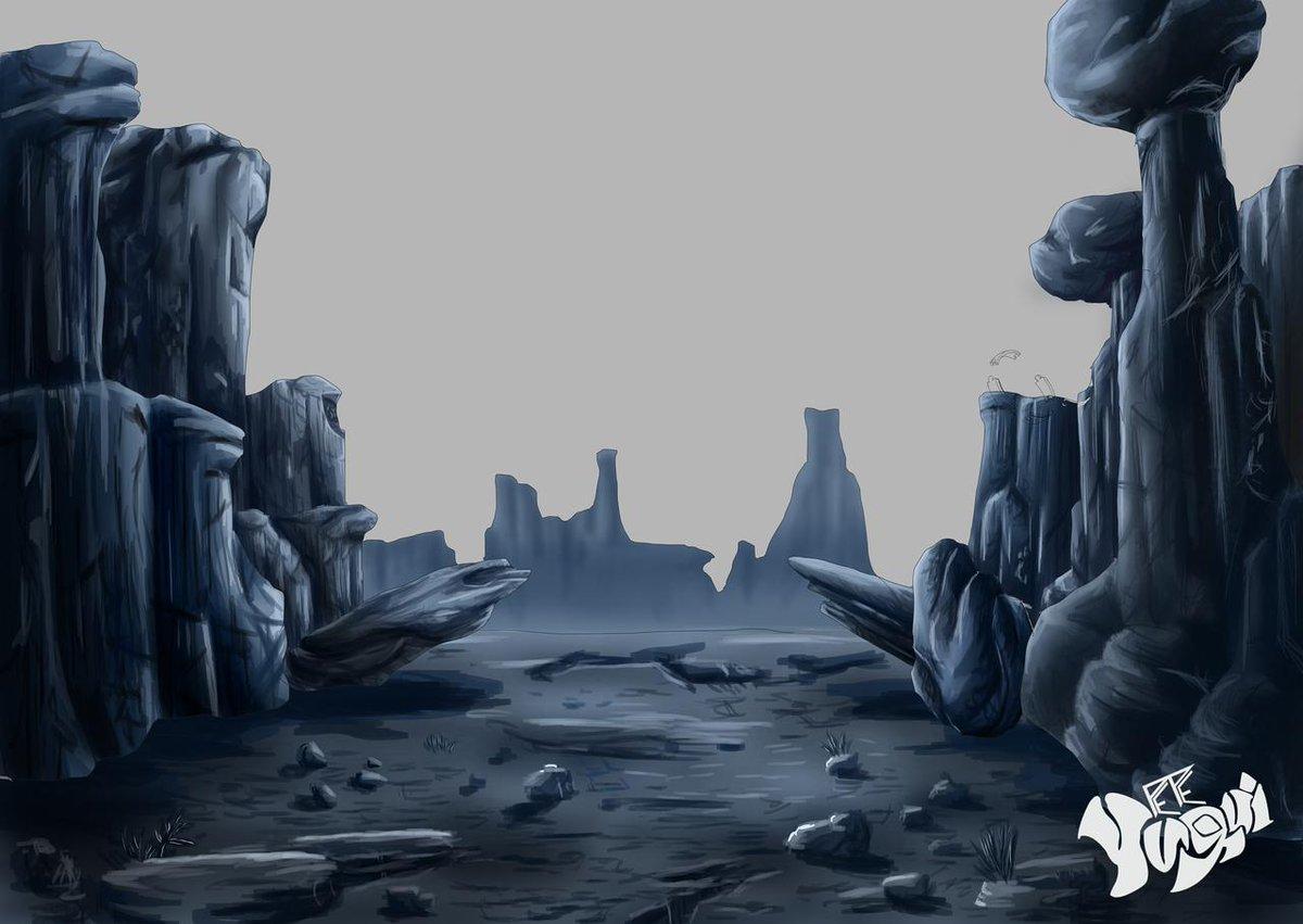 @ApoyaAlArtista   @ArtePorDoquier_   @dibujando   @ArtCult_es   @ConoceArtistas   #art #arte #MakingOf #WIP #process #TUTORIAL #reference #pic #artreference #rock #desert #illustration #drawing #landscape #enviroment