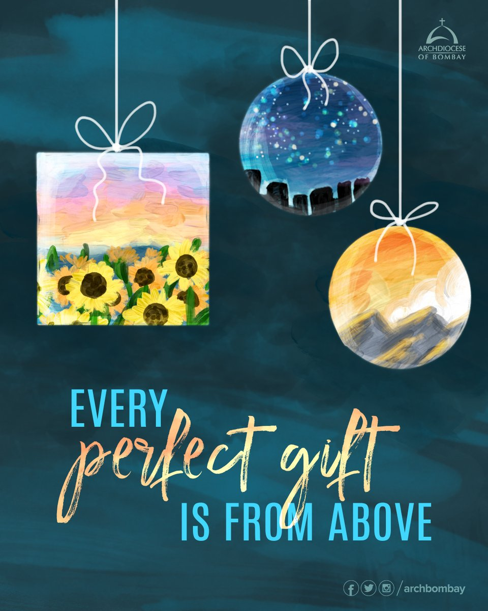 Every generous act of giving, with every perfect gift, is from above, coming down from the Father of lights, with whom there is no variation or shadow due to change. -James 1:17  #QuoteOfTheDay #Bible #Believe #Quote #Today #MondayMotivation #Advent