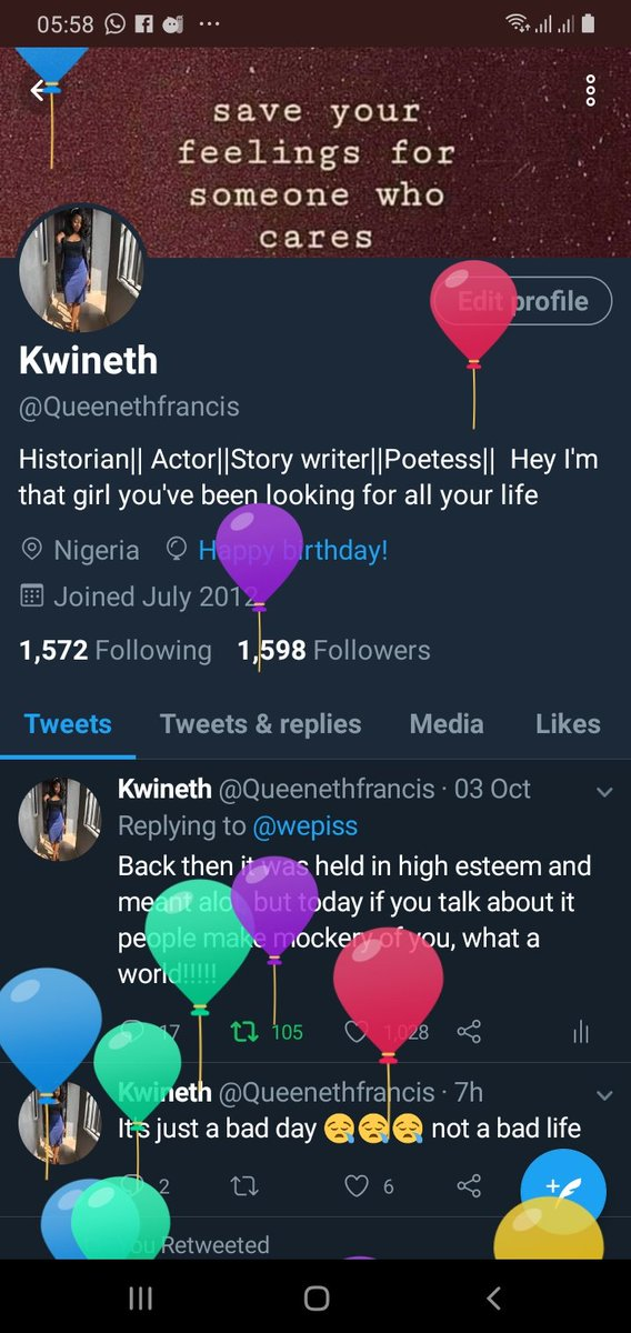 I got balloons today  another 365 days Lord I'm grateful <br>http://pic.twitter.com/h8ke7tcKLo