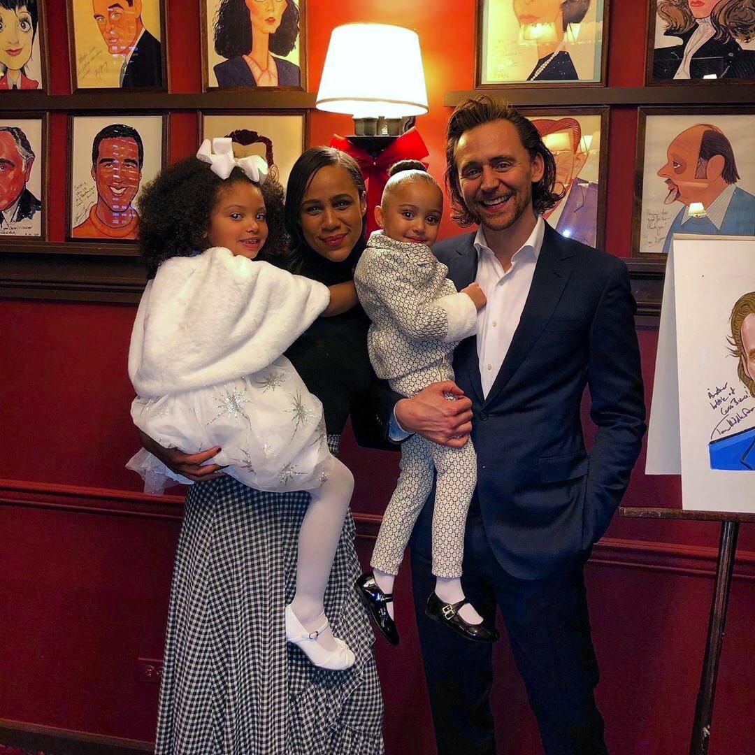 "Tom Hiddleston | HiddlesPage on Twitter: ""Tom Hiddleston and Zawe Ashton 😏  #BetrayalBroadway https://t.co/dzDYaJvgip… """