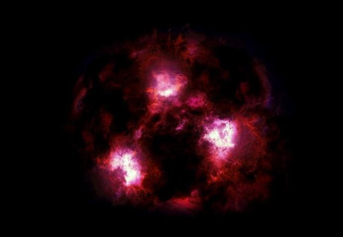 天の川の100倍速で星を生む「モンスター銀河」に熱い視線宇宙が誕生して間もないころに驚異的な速さで新しい星を生み出していた「モンスター銀河」。宇宙にどの程度あるのか不明でしたが、最近の研究で膨大な数が存在する可能性が指摘され始め、解明に火が付きそうです。