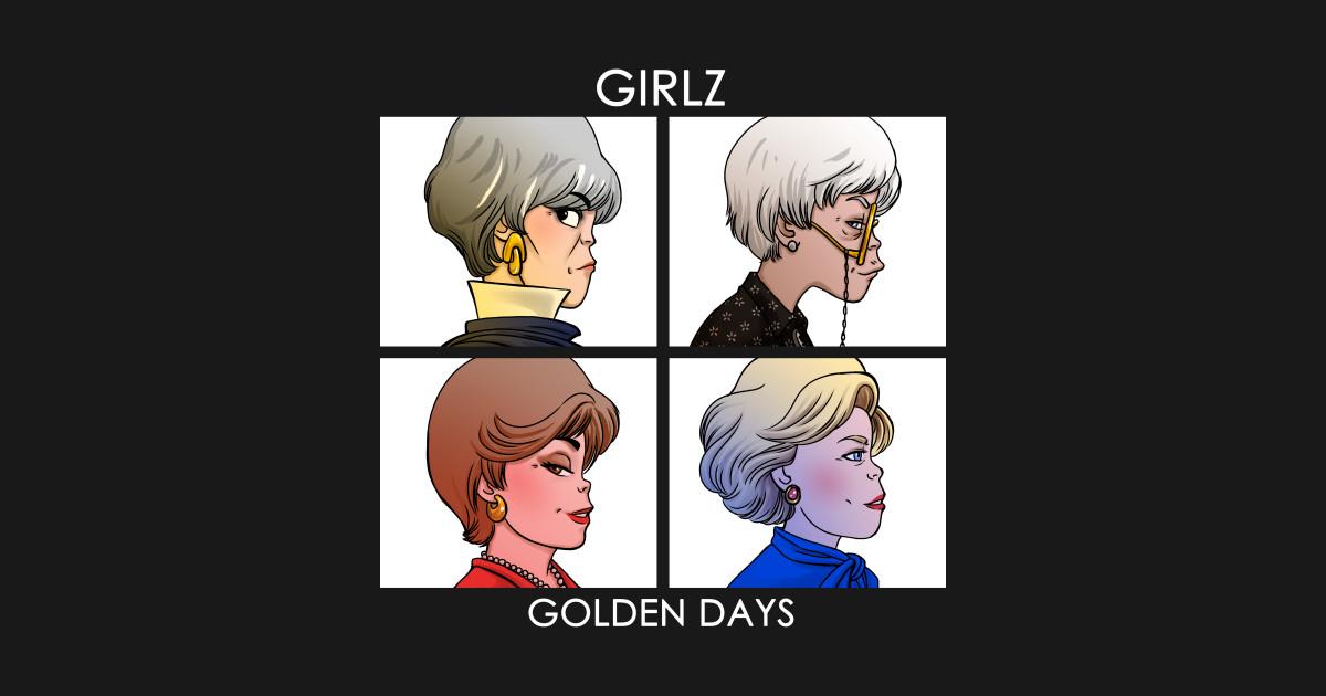 OUR HOLIDAY SALE CONTINUES! . SAVE 35% OFF ALL ITEMS:  . . . . . #HumorTee #GraphicTee #TeesTheSeason #BlackFriday #CyberMonday #OnSale #Sale #HolidayGiftGuide #GoldenGirls #Gorillaz #Satire #Spoof #AlbumArt #Parody #TeePub #TeePublic
