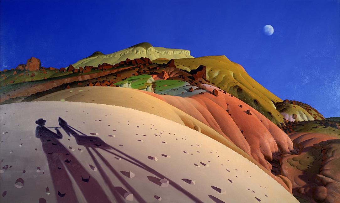 """The clearest way into the Universe is through a forest wilderness."" John Muir 💛 🎨James Doolin 1932-2002 American painter Last Painter on Earth #art #painting @eoff_sylvia @duckylemon @mhall55nine @mervalls @batznatz @marialves53 @ampomata @MaryBroderson @marmelyr @ejlazar"