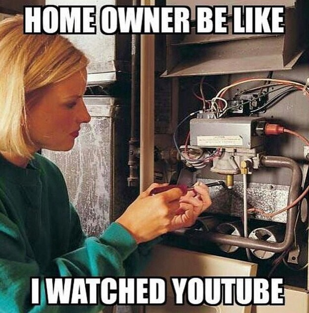 We understand the temptation to DIY, but please leave it up to professionals, like us! <br>http://pic.twitter.com/dLxIJnVNTe