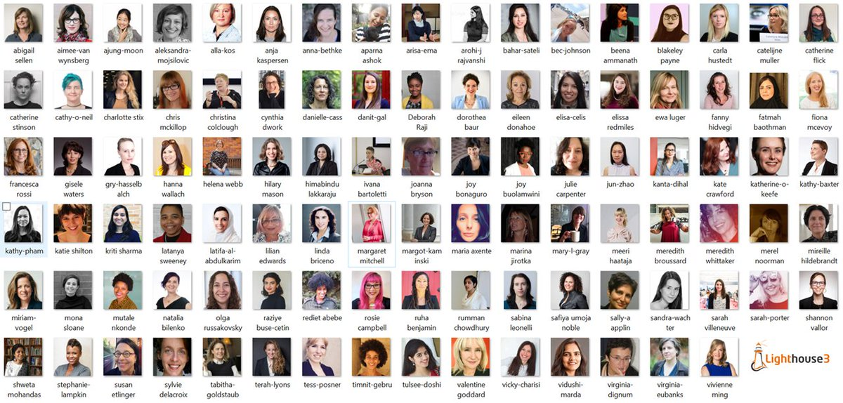 It's official! 100 Brilliant Women in AI Ethics for 2020 is live. Download your copy today. Many thanks to our WAIE council and Advisory committee for their hard work in putting together this stellar list #100BrilliantWomeninAI #AIEthics (1/x) lighthouse3.com/diversity-ethi…