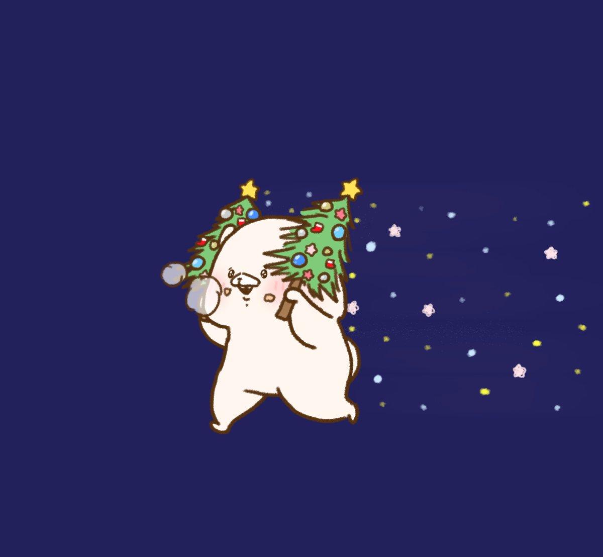 クリスマスツリーの日だよー