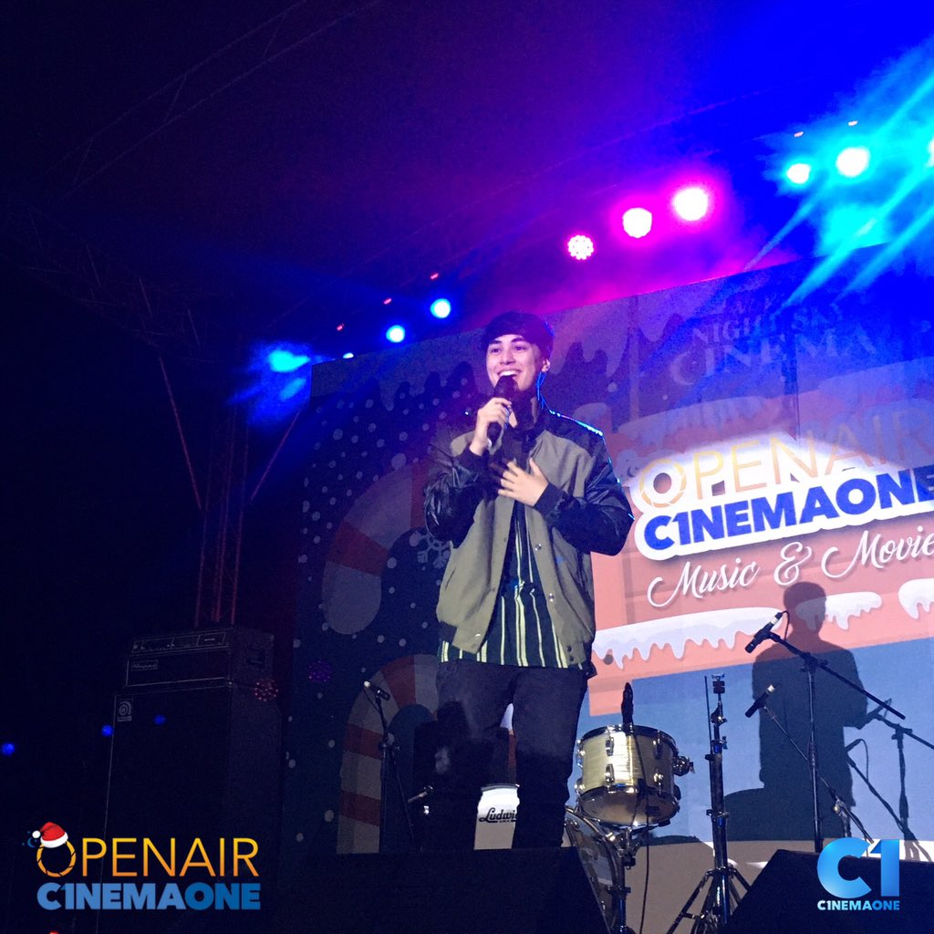 Our special guest artist, Edward Barber!   Habol na dito #OpenairCinemaOne sa Evoliving Grounds, Nuvali and watch Alone/Together and Fantastic with your family and friends under the starry night sky!<br>http://pic.twitter.com/JTvAM9Athe