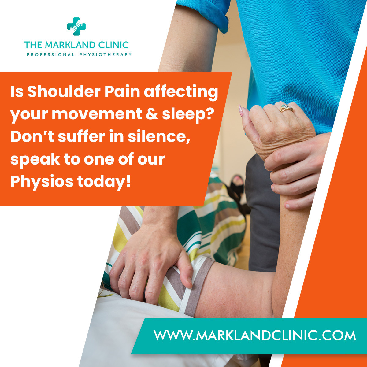 Shoulder Pain can often occur without notice and affect your everyday life.  Click here    Painkillers only mask the problem. Come and see us and let's get you pain-free!  #marklandclinic #pain #physio #shoulder #painfree #physiotherapy #physiotherapis ...