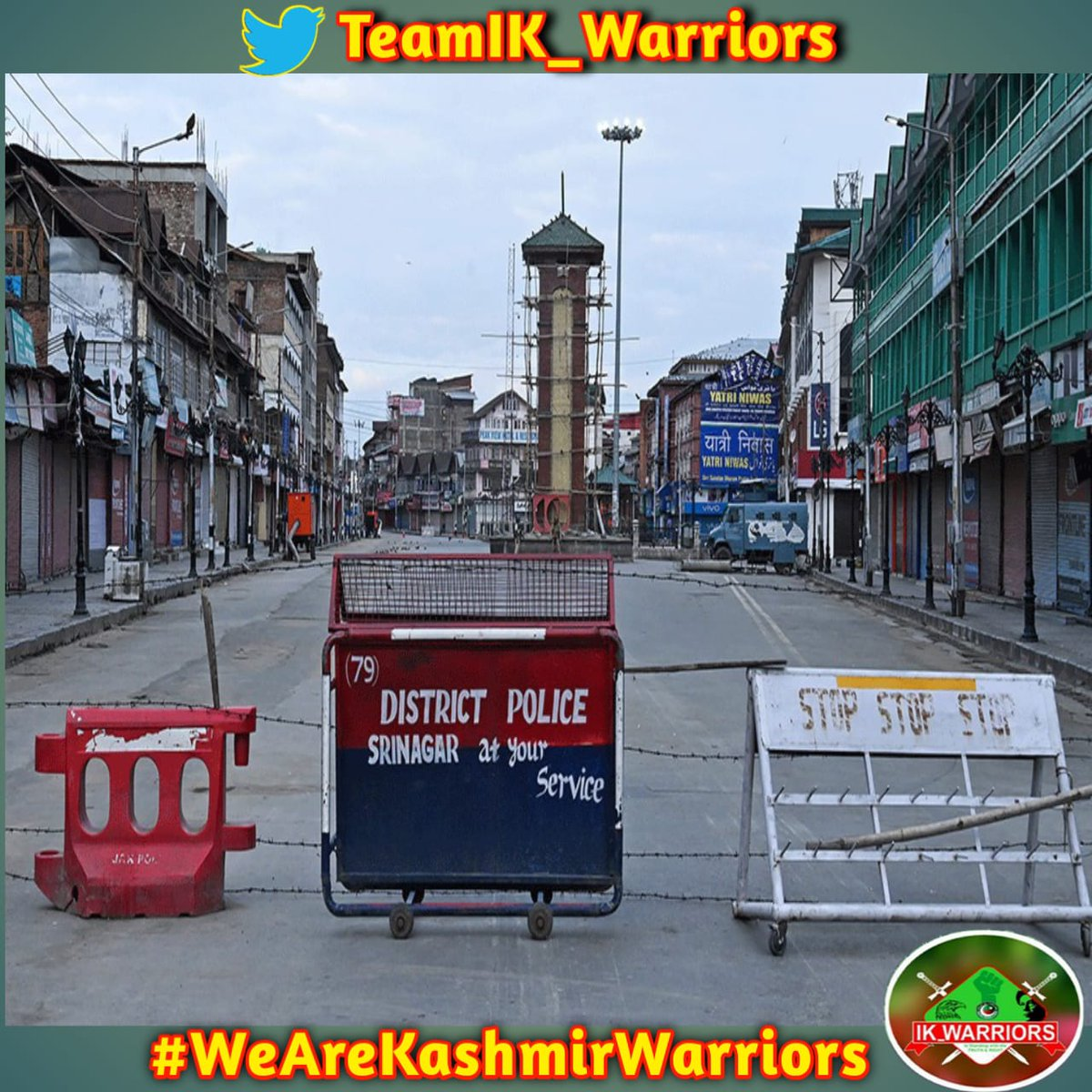 situation continues to remain almost unchanged in the Kashmir Valley and parts of Jammu region on the 125nd day of lockdown and military siege.  #WeAreKashmirWarriors <br>http://pic.twitter.com/6RjZyrxw5m