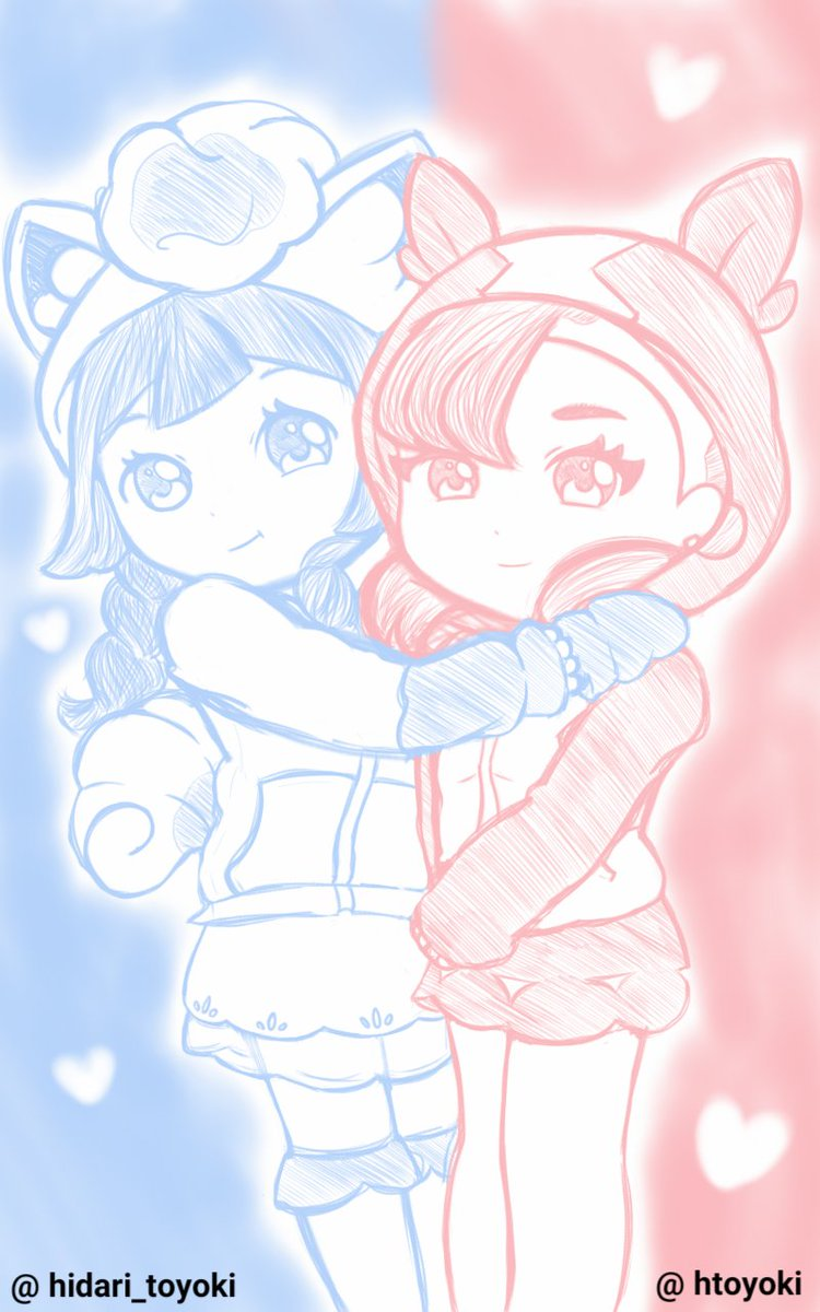 Added their legs... Lillie and Marnie #pokemon<br>http://pic.twitter.com/0jAQLXfVnK