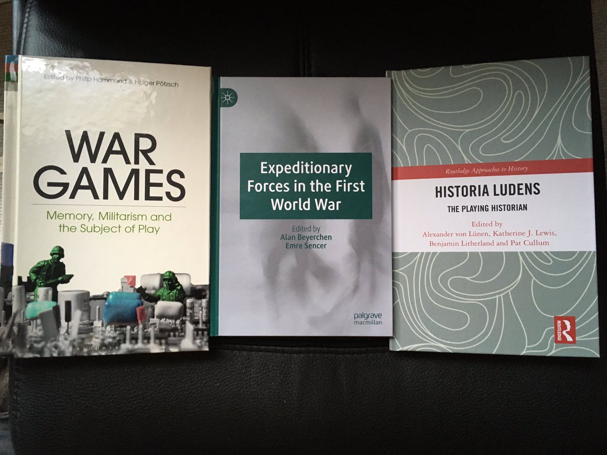 Y'know all things considered it's been a pretty good few months for appearing in collections alongside some of my favourite #FWW & games studies #twitterstorians, academics, and friends. You should all check out their work & contributions if you haven't already. <br>http://pic.twitter.com/vvzqujzXXi