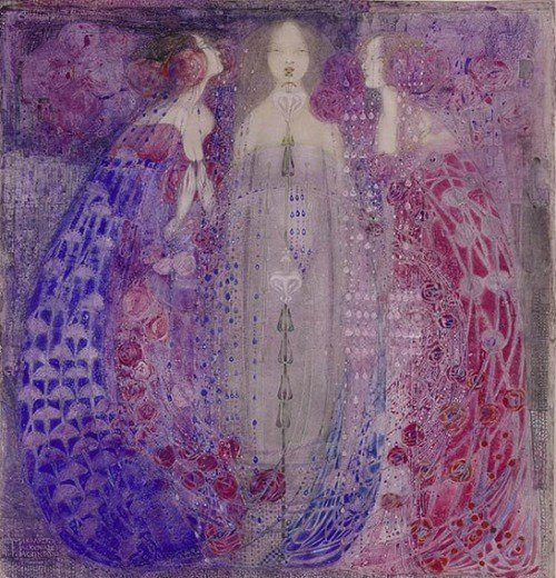 #WOMENSART blog: The Glasgow School Sisters who Influenced Klimt womensartblog.wordpress.com/2017/10/14/the…