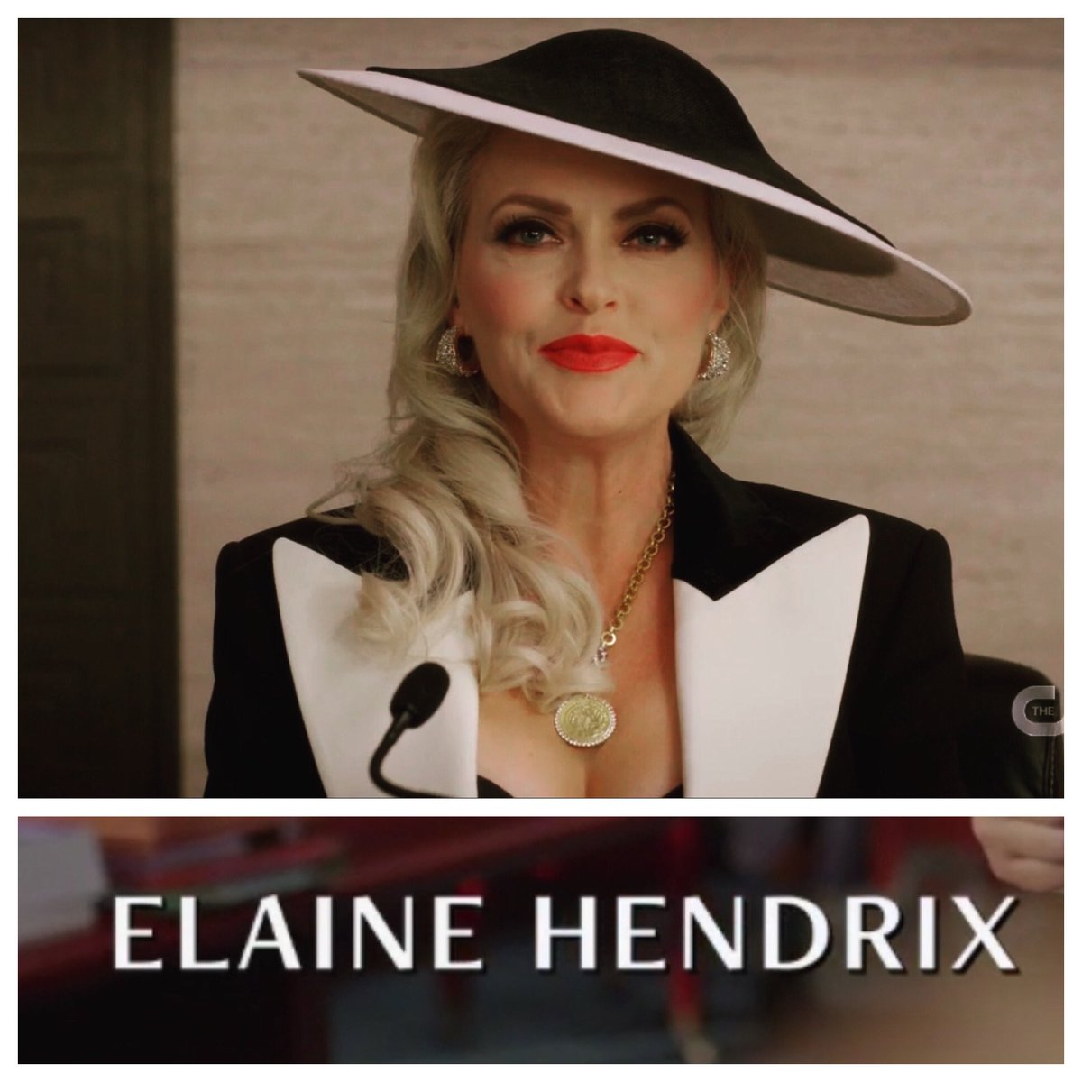 Alexis Carrington Colby is back! Congrats @elaine4animals This is going to be soooo good. ❤️ #Dynasty #Alexis