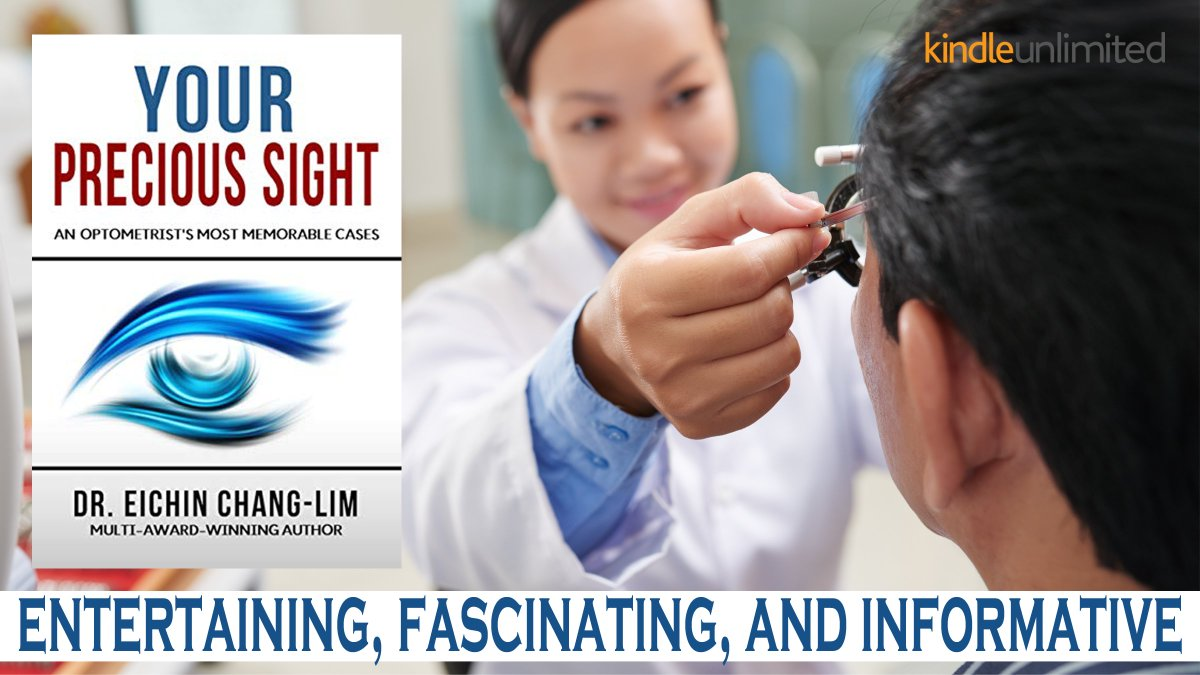 Replying to @EichinChangLim YOUR PRECIOUS SIGHT Are you petrified by the thought of permanently living in COMPLETE DARKNESS?  #IARTG #bookboost #MustRead #Nonfiction #reference #Healthcare #Wellness