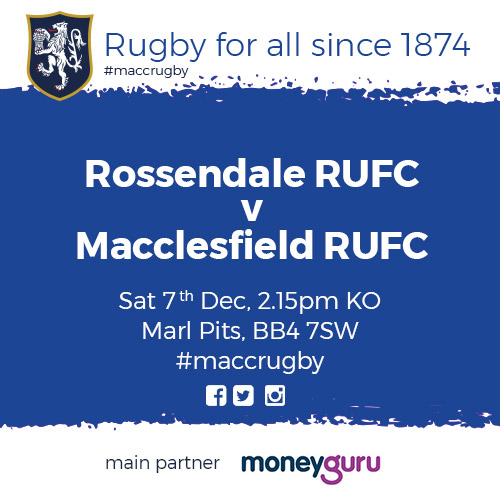 test Twitter Media - Good luck to our first team as they go head to head against @RossendaleRugby  this afternoon! #MaccRugby 🏉 https://t.co/9BCz0lK5E8