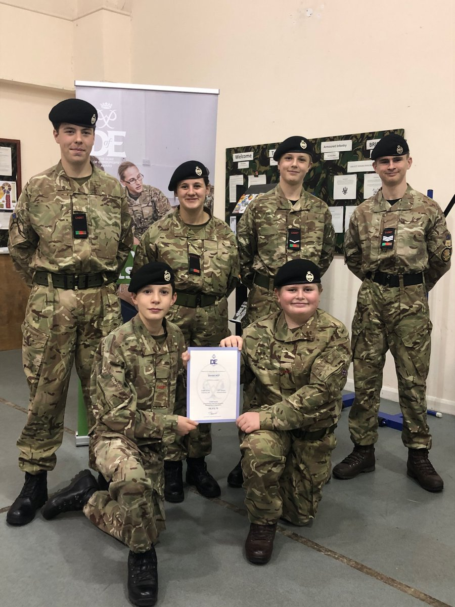 SOCIAL IMPACT OF DofE CELEBRATED: DofE Officer Capt Wheatley took the opportunity of talking to Bovington Cadets on Thurs evening about the valuable work through their DofE Awards and the social impact of all their volunteering. READ MORE HERE:  #ACF #DofE