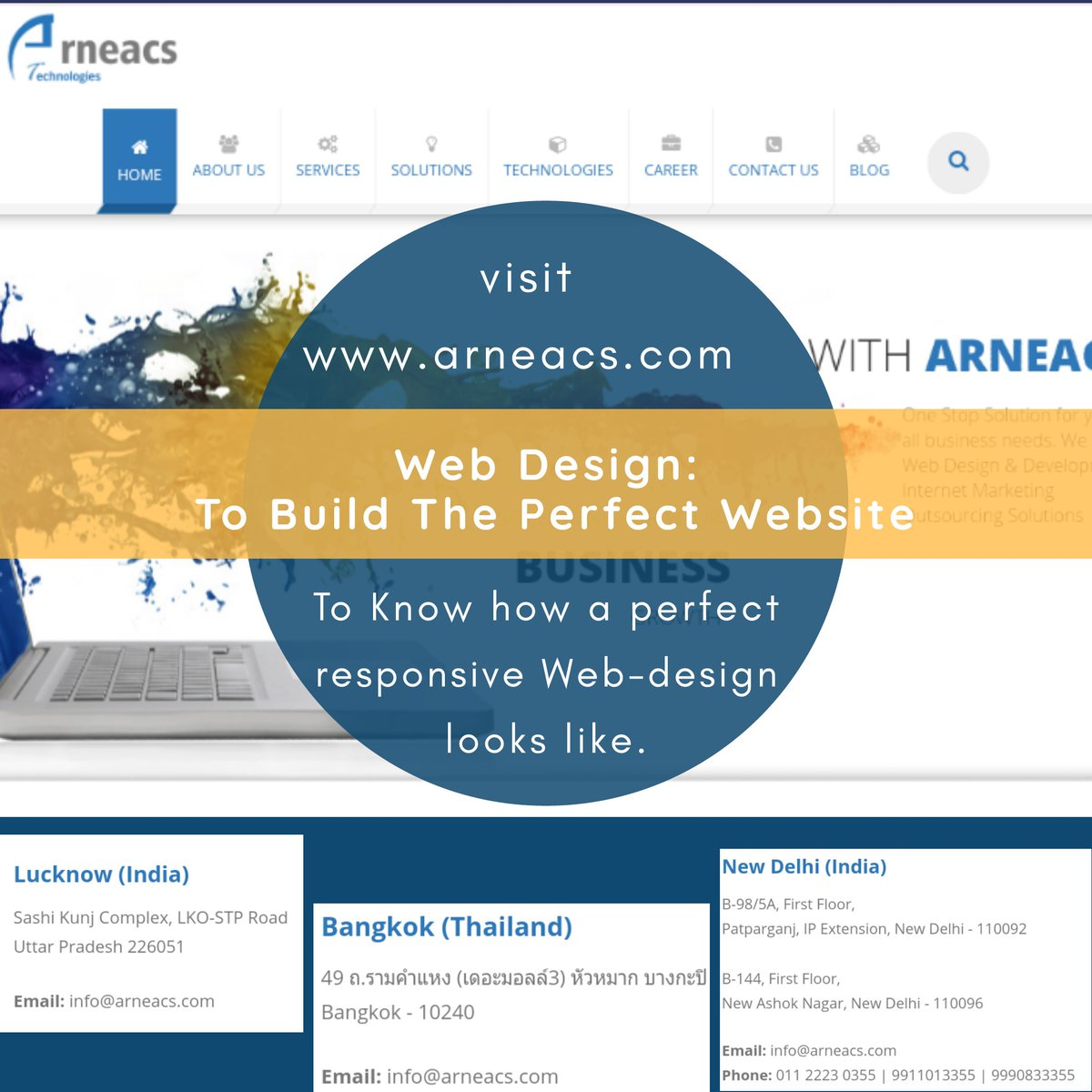 Just visit -  http://www. arneacs.com    , the website is a perfect example of a seamless web-design.  Read more-  http://www. arneacs.com/web-design-to- build-the-perfect-website.html  …   #arneacs #ITservices #webdesign #websitedesigns #responsivewebdesign #designanddevelopment #delhiwebdevelopment #delhi #websitedesigning<br>http://pic.twitter.com/uuIxEAFEfa